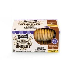 Three Dog Bakery Lick'n Crunch! Sandwich Cookies 26 oz