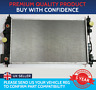 RADIATOR TO FIT CHEVROLET CRUZE ORLANDO 2.0 VCDi DIESEL AUTOMATIC VEHICLES