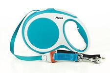 Flexi Vario Retractable Lead L Tape 8 M Turquoise