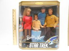Barbie and Ken Star Trek Gift Set 1996 30th Anniversary Collectors Edition