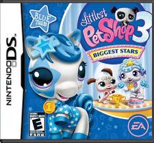 Littlest Pet Shop 3 Biggest Stars Blue Team NDS New Nintendo DS