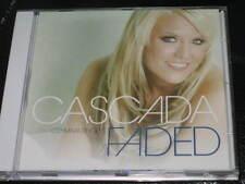 CASCADA - Faded - 10 Track DJ CD Single! RARE w/ Club, Radio, Mix, Edit Extended
