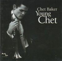 CHET BAKER young chet (CD, album, 1995) jazz, contemporary, bop, cool jazz