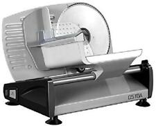 Meat Slicer Electric Deli Food Slicer with Child Lock Protection, Removable 19cm