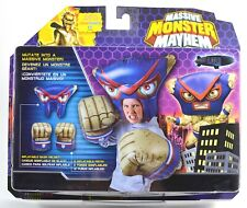 Massive Monster Mayhem Set Inflatable Helmet and Fists MISB White Blue