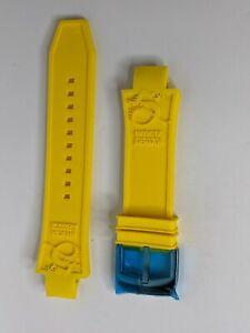 Invicta Watch Band Strap Yellow Silicone for Subaqua Noma III