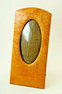 Rare Biedermeier-Holzrahmen, Photo Frame, Domed Glass, 4 11/16x9 13/16in (H7)