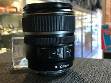 CANON ZOOM LENS EF-S 17-85MM 1:4-5.6 IS USM MACRO 0.35M1.2FT / AUSSIE STOCK !