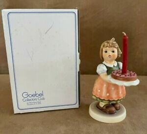 Goebel Hummel Collector's Club Special Edition No. 10 Birthday Candle box TMK6