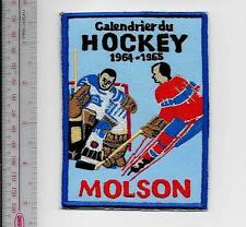 Beer Hockey Montreal Canadiens & Toronto Maple Leafs Molson Beer  1964 -65 NHL
