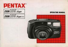 180450 PENTAX ZOOM 105 SUPER/105 SUPER DATE GENUINE INSTRUCTION MANUAL