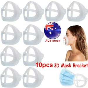 10X 3D Silicone Bracket Face Guard Support Frame for Comfortable Breathing Cool