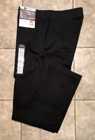 HAGGAR * Mens Black Casual Pants * Size 34 x 32 * NEW WITH TAGS