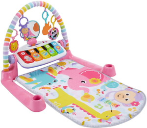 Fisher-Price Deluxe Kick & Play Piano Gym Pink - QE