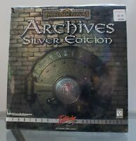 Forgotten Realms ARCHIVES SILVER EDITION PC CD Rom 1999 Big Box with Inserts