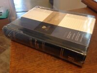 SEALED! HCSB CSB Notetaking Bible---bonded leather, black/brown w/ Concordance