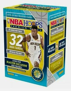 2019-20 NBA Hoops Premium Stock Basketball Blaster Box NEW AND SEALED