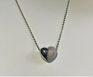Links of London 925 Silver heart slider necklace New