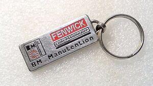 Keyrings Fenwick Dealership Sign Bm. Manutention