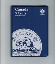 Uni-Safe Canadian Canada 5 Cents Nickel Coin Album Folder Blank - No Date