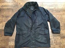 Homme Henri Lloyd Bleu Marine Bleu Ciré longue veste taille L