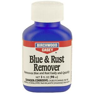 Birchwood Liquid Blue/Rust Remover 3 Ounce Bottle for Gun Cleaning 16125