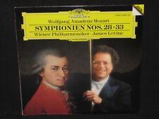 JAMES LEVINE ~ Mozart Symphonies 28 & 33 (SEALED) ~ DGG DIGITAL ~ 1987 classical