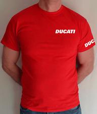 DUCATI, Bicicleta, Motocicleta, Pequeño Logo, T Shirt