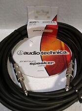 """Audio-Technica Premium 25 FT 1/4""""-1/4"""" ,Phone Plug, Speaker Cable, AT690-25"""