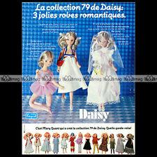 DAISY Poupée Mannequin RAYNAL CollectioN MARY QUANT 1979 Pub Publicité Ad #A1109