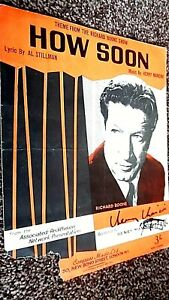 HOW SOON: THEME FROM THE RICHARD BOON SHOW (AUTOGRAPHED TWICE BY HENRY MANCINI)