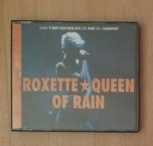 2-Maxi-CD: Roxette - Queen of rain | + It must have been love / Dangerous / ...