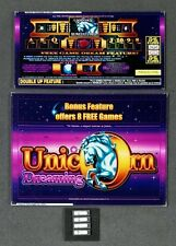 Aristocrat MK6 Slot Machine UNICORN DREAMING Glass Set w/ Software