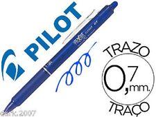 LOTE - 3 PILOT FRIXION CLICKER  - AZUL - BORRABLE & RETRACTIL