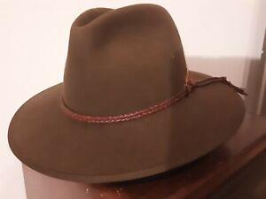 Akubra Riverina Hat HUT  GR 59 wie neu ***TOP*** selten Western Look
