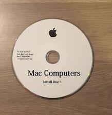 Apple Mac Computers OS X 10.6 Install Discs DVD Snow Leopard (v S/N)