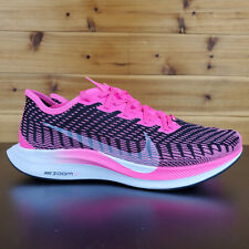 Nike Zoom Pegasus Turbo 2 Pink Blast Black Womens Sz 9 Running Shoes AT8242-601