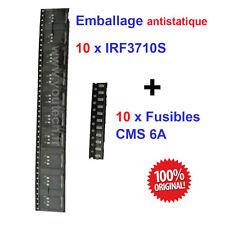 Lot de 10 transistors IRF3710S + Fusible pour compteur tableau de bord Scenic 2
