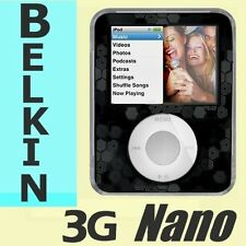 3G NANO Belkin Remix Apple IPOD Case for 3rd gen Nano Aluminum Hard Armor Shell