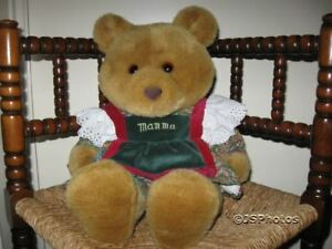 Old Vintage Dutch Mama Bear By Merison Retail Holland
