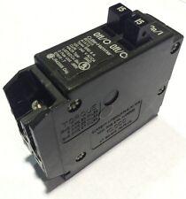 BD1515 Cutler-Hammer Type BRD Circuit Breaker 1 Pole 15-15 Amp 240V