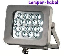 18W LED Strahler strahlt sehr hell und sehr weit, Fluter für Außen  Art.419