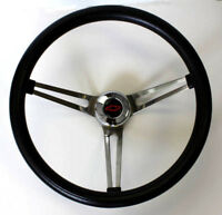 Chevrolet Pick Up C10 C20 C30 Blazer Grant Black Steering Wheel Red/Blk 15""
