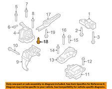 Front Bumper Grille Grill-Impact Bar Reinforcement Rebar Bolt N91066101