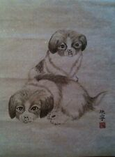 traditional Chinese painting by myself - fundraising for my trips