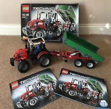 LEGO TECHNIC 6083 RARE TRACTOR & TRAILER COMPLETE SET INSTRUCTIONS & BOX EX CON