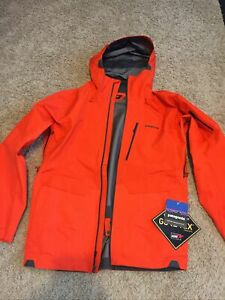 Patagonia Powslayer Jacket, Men's, Medium, Relaxed Fit, Gore-Tex Pro, Recco