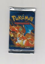 ONE Pokemon Factory Sealed Base Set Booster Pack Unlimited Spanish Charizard Art