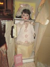 Franklin Heirloom The Thuillier Antique Reproduction Collector Doll*NIB *COA