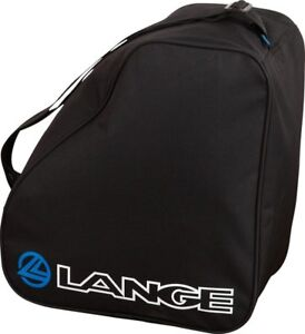LANGE MEN'S LADIES JUNIOR SKI SNOWBOARD BOOT / GEAR BAG BLACK / BLUE